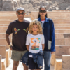 Pharrell Williams Shares Rare Family Photo with Wife Helen and Son Rocket from Egypt Trip
